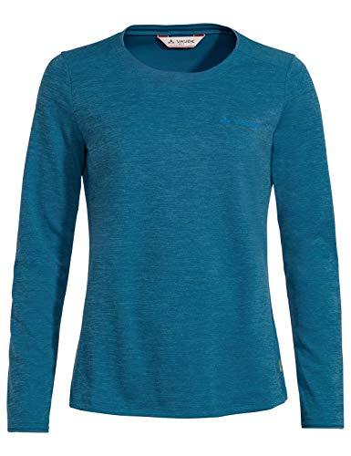 VAUDE Damen T-Shirt Women's Essential LS T-Shirt, Icicle, 36, 41316