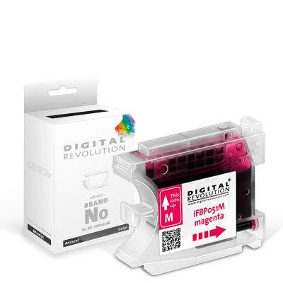 Digital Revolution, Tintenpatrone XXL Patrone 'Magenta', 21 ml, Originalverpackte Markenpatrone, ersetzt: Brother LC-1000 M, LC-970 M, Magenta