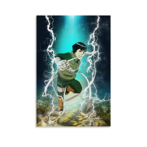 caomei Rock Lee Canvas Art Poster and Wall Art Picture Print Modern Family Bedroom Decor Posters 20x30inch(50x75cm)