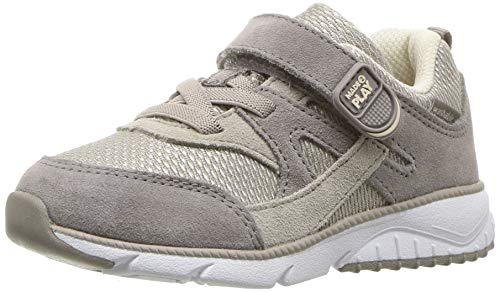 Stride Rite Unisex-Baby Ace Boy's and Girl's Premium Leather Sneaker, tan, 10 M US Toddler