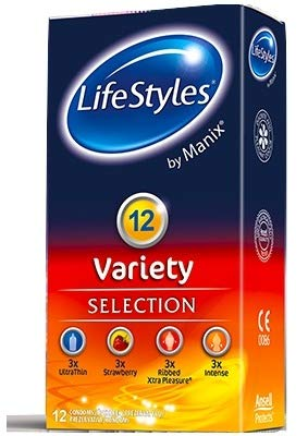 LifeStyles by Manix Variety Kondome - 12er Pack