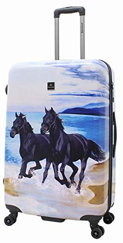 Koffer Trolley Pferd Horse Pferdekoffer Pferdemotiv Saxoline Gr.L 77 cm
