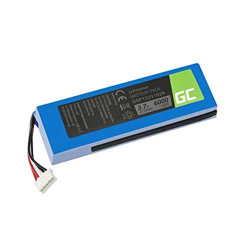 GC® Batería para JBL Charge 2 Plus Speaker (Li-Polymer Celdas 6000mAh 3.7V)