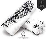 Kaydee Baby Organic Muslin Cotton Swaddle Blankets - Set of 2-47x47...