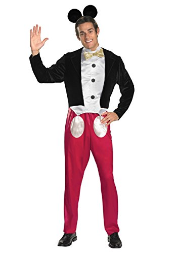 Disguise Mickey Mouse Adult Fancy Dress Costume X-Large