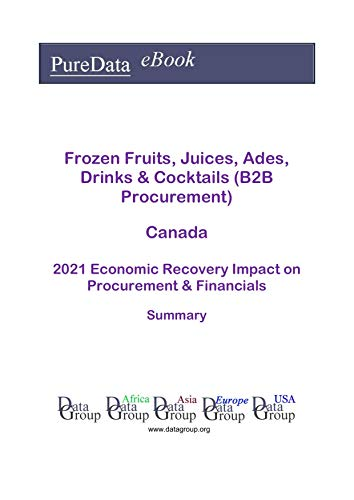 Frozen Fruits, Juices, Ades, Drinks & Cocktails (B2B Procurement) Canada Summary: 2021 Economic Recovery Impact on Revenues & Financials (English Edition)