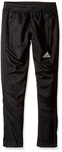adidas Youth Soccer Tiro 17 Pants, X-Large - Black/White