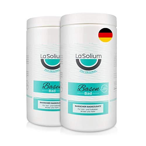 Basenbad Badesalz   2400g - Basische Pflege mit Mineralerde   pH-Wert 9,5   in Deutschland hergestellt   begleitend zu Entsäuerungs- und Basenkuren