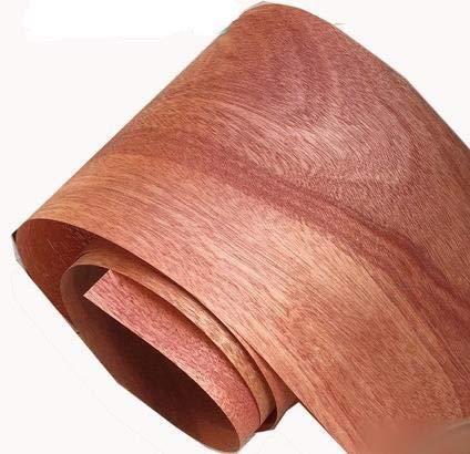 NO LOGO 2pieces / Lot Länge: 2.5meters.Dicke: 0,25 mm Breite: 15 cm Natur Peach Kern Veneer