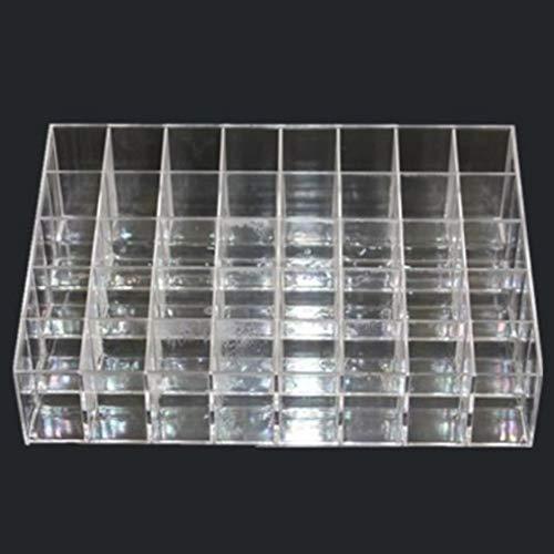 Dynamovolition 40Grid Multifunktions-Lippenstifthalter aus Kunststoff Organizer Lippenstifthalter Displayhalter Kosmetikregal Nagellack-Aufbewahrungsregal