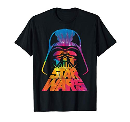 Star Wars Darth Vader Tie Dye Helmet Graphic T-Shirt Z1 T-Shirt
