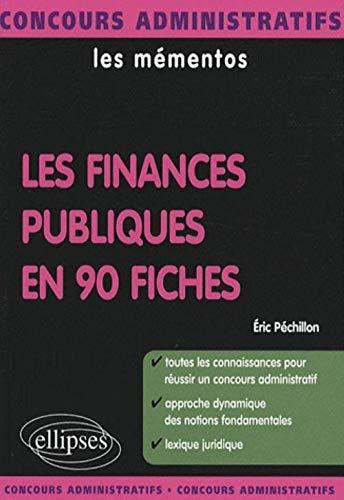 Les finances publiques en 90 fiches