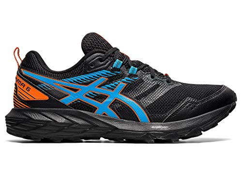 ASICS Men's Gel-Sonoma 6 Running Shoes, 8.5M, Black/Digital Aqua