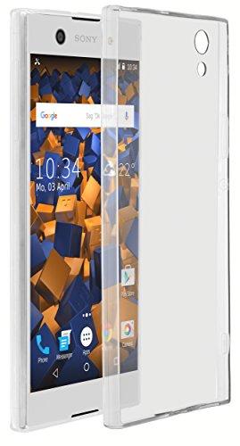 mumbi Hülle kompatibel mit Sony Xperia XA1 Ultra Handy Hülle Handyhülle dünn, transparent