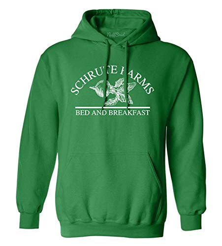 NuffSaid Schrute Farms Beets Bed and Breakfast Hooded Sweatshirt Sweater Pullover – Unisex Hoodie