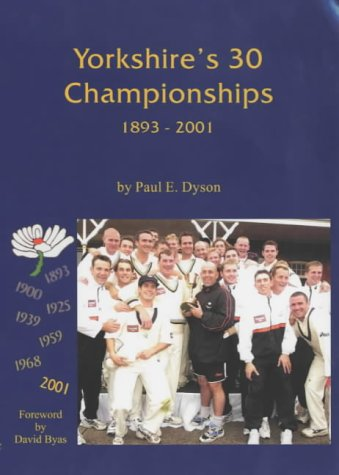 Price comparison product image Yorkshire's 30 Championships 1893-2001