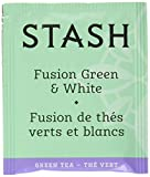 Stash Tea Fusion Green & White Tea 100 Count Tea Bags in Foil (Packaging May Vary) Individual Tea...