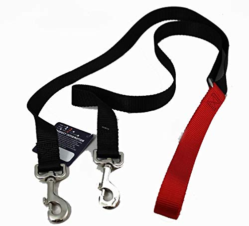 2 Hounds Freedom No Pull 1 Inch Training Leash ONLY Works with No Pull Harnesses Red