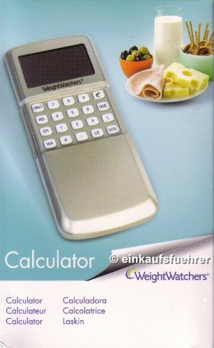 Weight Watchers ProPoints Calculator Points Rechner 2010/2011