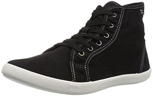 Billabong Women's Phoenix Fashion Sneaker, Off Black, 7 M US