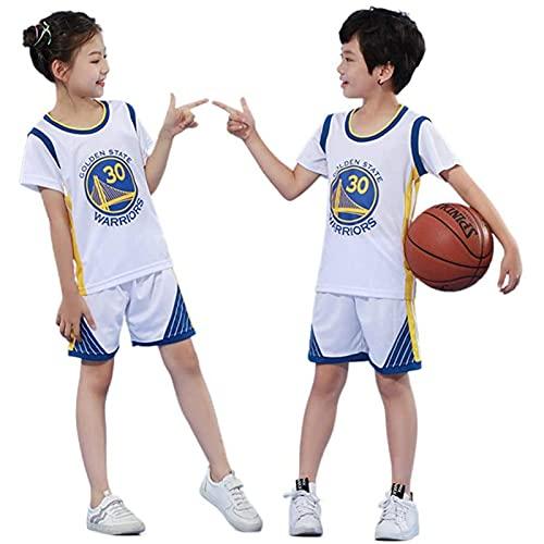basket bambinoJersey- Set Di Canotta E Pantaloncini Da Basket Per Bambini E Ragazzi, 2 Pezzi, Indumenti Tecnici (M,colour-03)