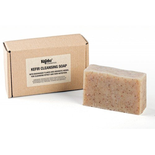 Kefirko Cosmetics Organic Probiotic Kefir Soap For Face And Body (Cleansing)