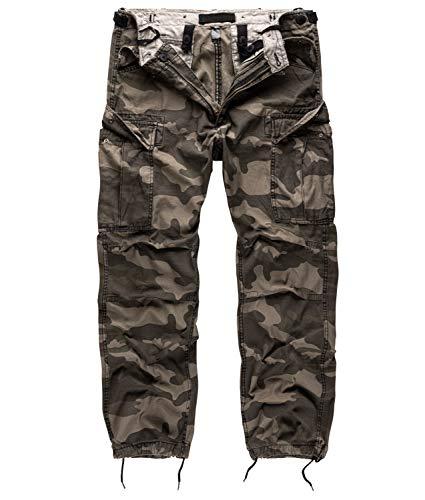 Surplus - Pantalon - Homme - Noir - Black Camo - Moyen