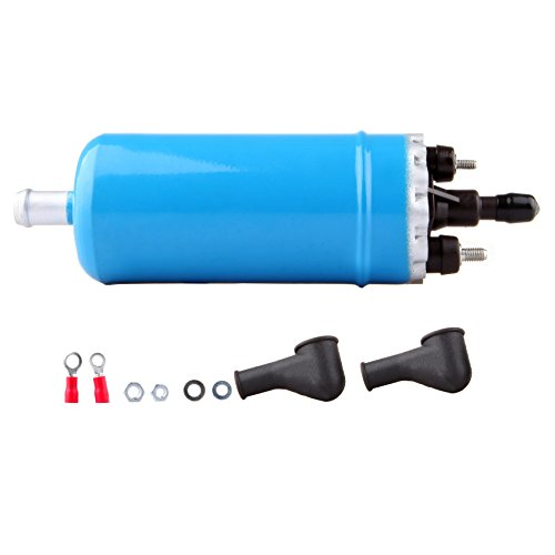 Electric Fuel Pump Universal Inline High Pressure With Installation Kit fit for BMW 318i 325e 325i 528e Mitsubishi Starion Tredia Volkswagen Transporter 1985 1986 1987 0580464070