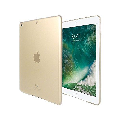 iPad 9.7 ケース クリア apple 耐衝撃 薄型 耐熱性 シンプル カバー スモーククリア ハードケース ポリカー...