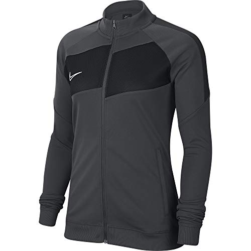 Nike Damen Academy Pro Knit Jacket Trainingsjacke, Anthracite/Black/White, M