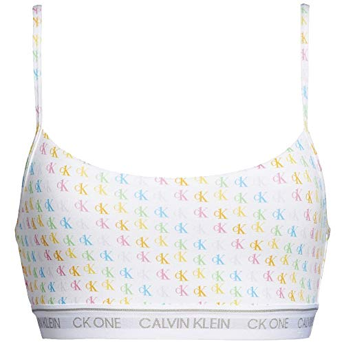 Calvin Klein String-Bralette - CK ONE Mini CK1 Logo_Pride (L)