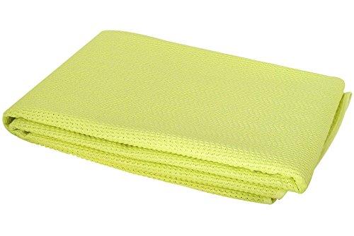 Milano Gartentischdecke Tischdecke, Lemon/Gelb, 160 x 16 0 x 0.4 cm, 20605