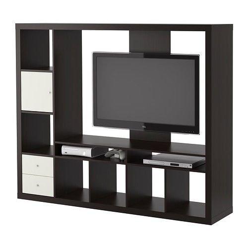 Ikea LAPPLAND - Unidad de Almacenamiento para TV, Color Negro y ...