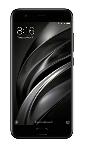 "Xiaomi Mi 6 5.15"" Dual SIM 4G 6GB 64GB 3350mAh Black - Smartphones (13.1 cm (5.15""), 6 GB, 64 GB, 12 MP, Android, Black)"