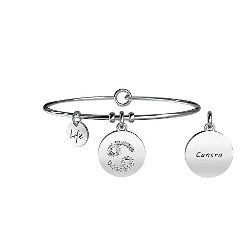 KIDULT Bracciale Zodiaco Life Collection Symbols Cancro - 231582 - Sensibile