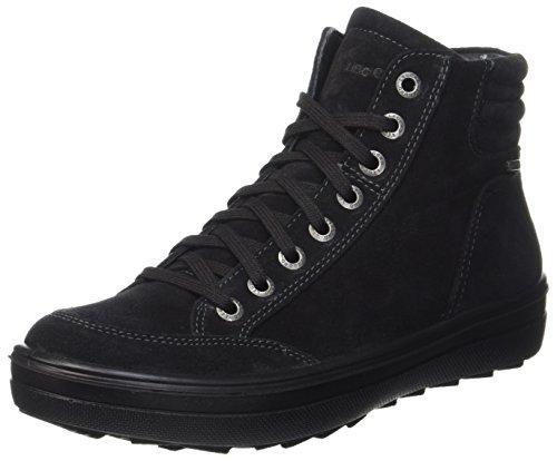 Legero Damen Mira Hohe Sneaker, Schwarz (Schwarz Kombi), 37 EU (4 UK)