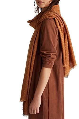 ESPRIT Accessoires Damen 990EA1Q306 Mode-Schal, 230/CAMEL, 1SIZE