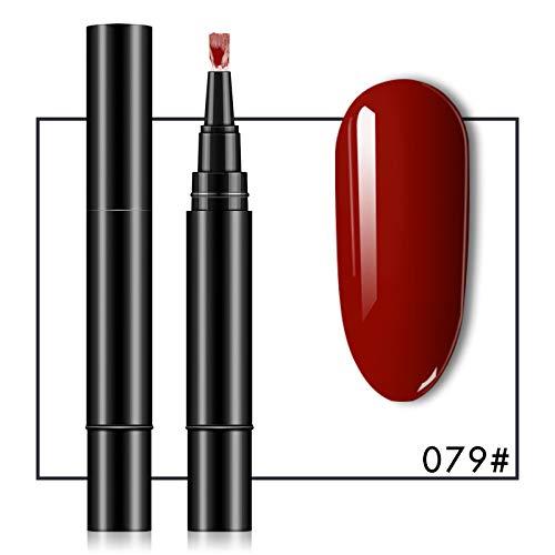 SHENGNONG 3 in 1 Nagellackstift einstufiger fauler Nagellackstift (16 Farben erhältlich)