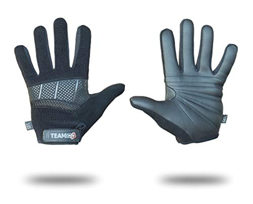 P N Pure Nutrition Fitness Handschuhe Krafttraining Gewichtheben Trainingshandschuhe|Sporthandschuhe Safe Geleinlage Silikon Palm- L, CROSSFIT BLACK