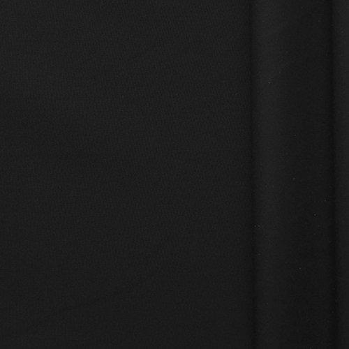 (5,99€/m) Art. 6135 (schwarz) extra softer Stoff mit wasser & schmutzabweisender Teflon Imprägnierung - Meterware