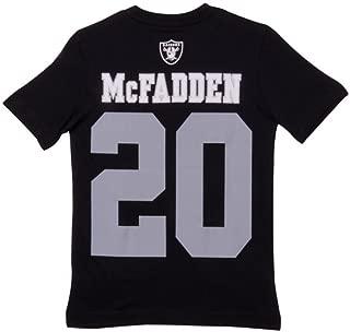 OuterStuff Darren McFadden Oakland Raiders Jersey Name and Number T-Shirt Large 14/16
