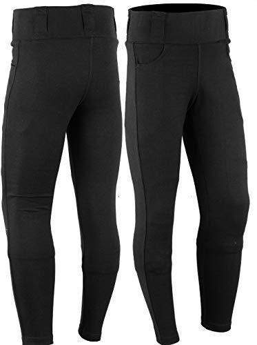 SGI-BIKE [Mod2] Damen Dupont Kevlar Motorrad Jeans Hose Leggins Motorradhose 2X Protektoren (M)