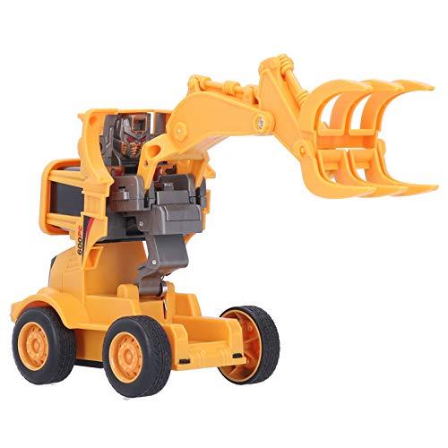 JYLSYMJa Juguetes para niños, RC Modelo Ingeniería Car Bulldozers Car Deformación por colisión inercial Construcción de automóviles Vehículo de Juguete para niños Regalo de más de 3 años