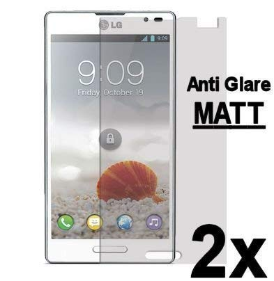 ENERGMiX 2X LG P760 Optimus L9 // Matt Displayfolie Schutzfolie Folie Anti-Glare