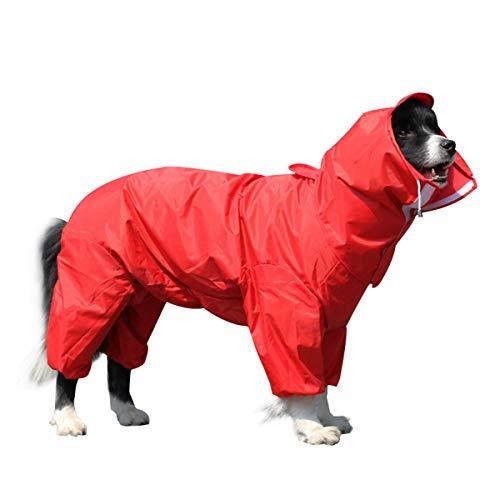 OTOKU 犬用レインコート 快適 いい素材 レインコート ペットレインコート カッパ 犬用合羽 小型犬 中型犬 ...