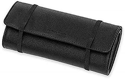 Moleskine - Astuccio multiuso classico, per penne, cavi e caricabatterie, con 6 tasche di diverse dimensioni, dimensioni: 21 x 44 x 0, 4 cm, colore: nero