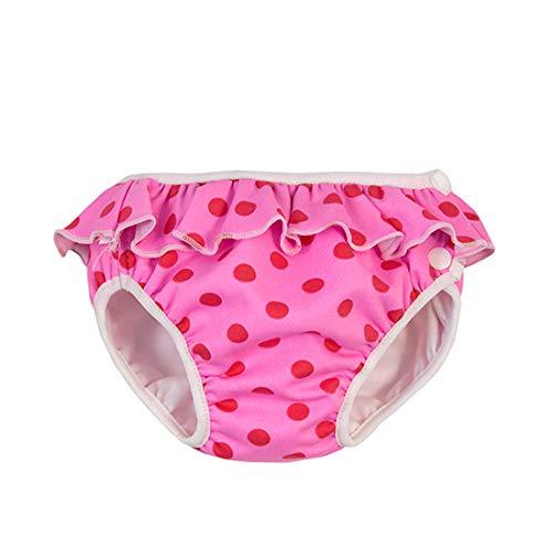 Imsevimse, zwembroek voor baby's, zwemluier, XL 11-14 kg, roze