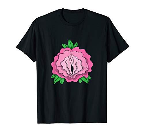 Rosen Vagina Shirt Blumen Scheide Pflanzen Geschenk T-Shirt