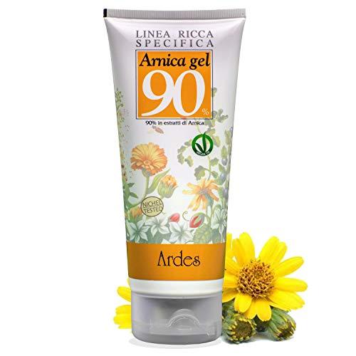 Ardes Cosmetici Arnica Gel 90% 200 ML - Rinfrescante Antiossidante Lenitiva Contro Agenti Esterni - Ingredienti Naturali Per Tutti i Tipi di Pelle (200 ML)
