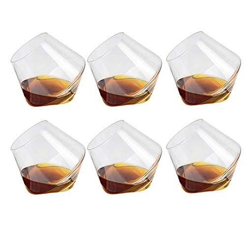 KoToTip 6PC 400ML Bicchieri Vino Bicchieri Whisky Bicchieri Rum Bicchieri Vino Bianco Bicchiere da Vino Rum Bicchiere da Vino